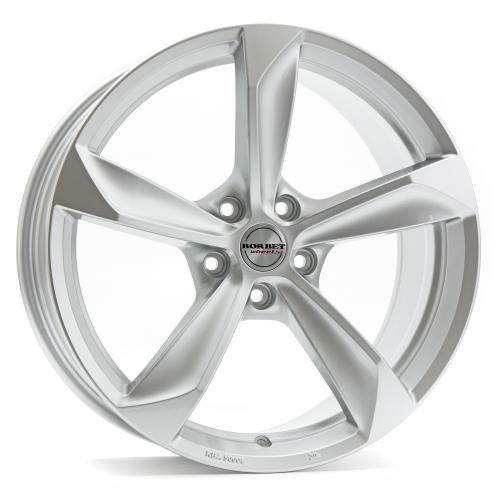 Borbet S brilliant silver 8x18 ET45 5.00x108 Hub Bore 72.50 mm - Alu felgen