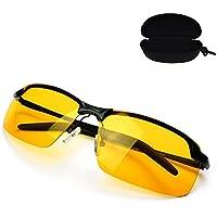MK3 LUNETTES DE CONDUITE NOCTURNE ANTI-ÉBLOUISSEMENT LUNETTES INFORMATIQUES Convient pour une vision nocturne améliorée. Anti-éblouissement HD Vision Des lunettes de soleil JHoOUw01