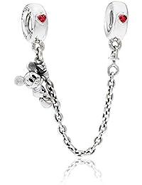 Pandora 797173CZR-05 - Abalorio para mujer, plata de ley 925