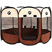 115 x 115 x 60cm Parasol extra/íble Grande YOOBE Pet Portable Plegable Plegable Valla de Transporte y Recipiente de Viaje Plegable Perro//Gato//Conejo Impermeable Uso Interior//Exterior
