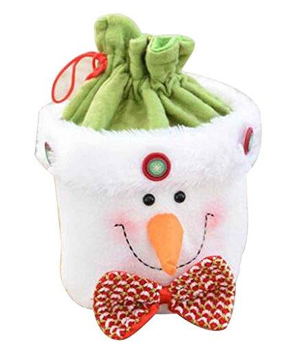 Sacchetto regalo di natale con decorazioni natalizie sacchetto regalo con sacchettino di mele [i]