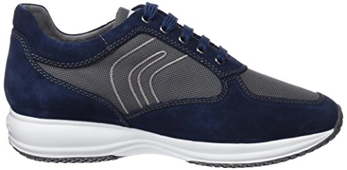 G Dk Happy Herren Grey Sneaker Art U Geox Blau Blue wI4qRw