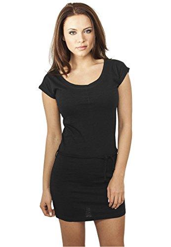 Urban Classics Ladies Slub Jersey Dress Abito nero L
