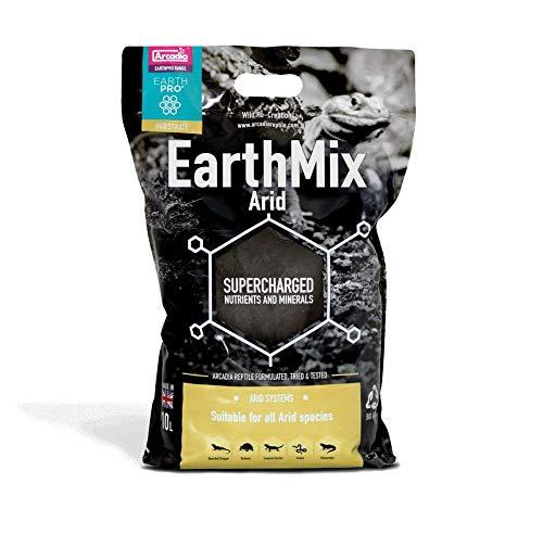 Arcadia Earthmix Arid - Erde für Trockenterrarien (10 l)