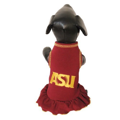 NCAA Arizona State Sun Devils Cheerleader Hund Kleid (Team Farbe, XS) von All Star Hunde (Arizona Kleider)