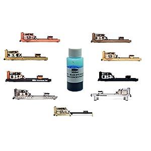 Water Rower Rudergerät inkl. Blaue Wasserfarbe