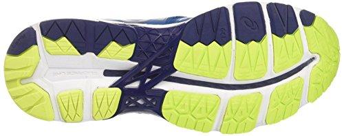 Asics Gel Kayano 23, Scarpe da Trail Running Uomo Blu (Thunder Blue/Safety Yellow/Indigo Blue)