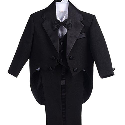 gen Smoking Gr. 3 Monate, schwarz (Black Angel Outfit)