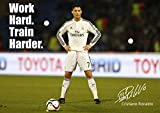 Cristiano Ronaldo # 38 - Motivational - signiert