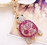 Best Tia Gifts - Tia-Ve Cute Crystal Rhinestone Tortoise Keyring Charm Pendant Review