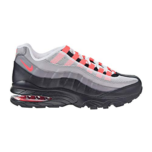 Nike Air Max 95 GS Running Trainers 905348 Sneakers Schuhe (UK 6 US 6.5Y EU 39, Black solar red 013) - 013 Luft