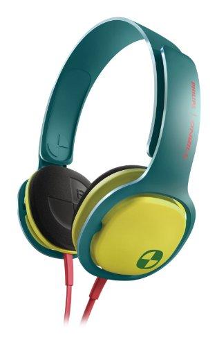 Philips SHO3300ACID/28 O'Neill Cruz Headband Headphones Green/Yellow  available at amazon for Rs.5155