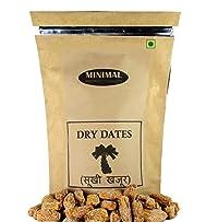 Minimal Yellow Dry Dates/Peela Sukha Khajoor,1Kg