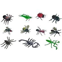 Miniland Educational 154190 - Insectos, 12 piezas en bote