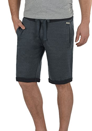 Blend Sonny Herren Sweatshorts Kurze Hose Jogginghose mit Kordel Regular Fit, Größe:L, Farbe:India Ink (70151)