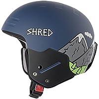 Shred basher NOSHOCK Need More Snow–Casco de esquí, Otoño-invierno, unisex, color azul, tamaño small