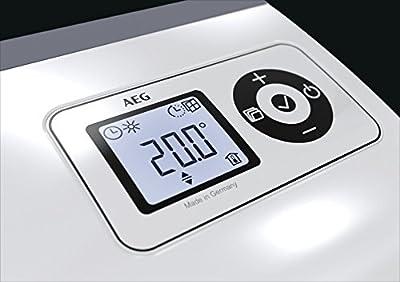 AEG Ventilatorheizung VH, Besonders geräuscharme Heizung für das Bad, Sehr flach, 2000 W