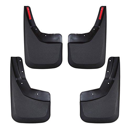 etbotu Schmutzfänger Flare Splash Guards Kits für Chevrolet Silverado 2014–2016