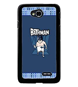 PrintDhaba Funny Cartoon D-3629 Back Case Cover for LG L90 (Multi-Coloured)