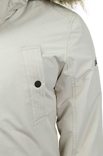 Herren RipStop Parkajacke von Tokyo Laundry 'Ridgecrest' Winter-Weiß