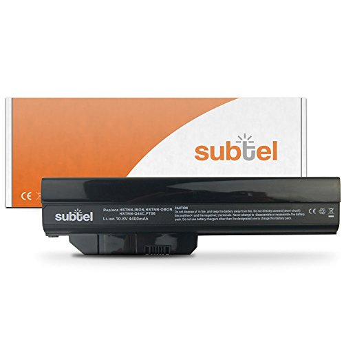subtel® Qualitäts Akku (4400mAh) für HP Pavilion DM1-1000/2000 / DM2 / Mini 311 HSTNN-UBON Notebookakku Laptopakku Ersatzakku Batterie (Hp Mini 311 Akku)
