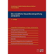 Die mündliche Steuerberaterprüfung 2018/2019