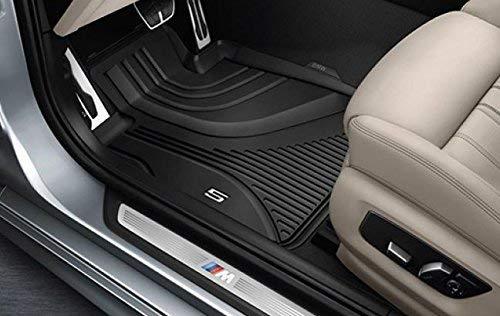 BMW tappetini originali di gomma, per tutte le stagioni, tappetini anteriori LHD