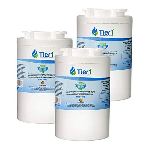 Ersatz-Kühlschrank-Wasserfilter Tier1 Amana WF401 Clean N Clear, 12527304, WF401S, WF401P, Kenmore 46-9014, 46-9904, 3 Stück 3-Pack