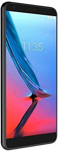 ZTE Blade V9 Smartphone (14,5cm (5,7 Zoll) Display, 32 GB interner Speicher, Android) Schwarz