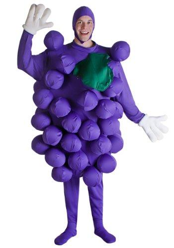 Lila Trauben Kostüm - ST