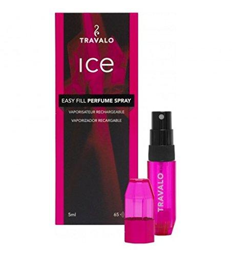 ATOMISEUR TRAVALO ICE 5 ML Rose