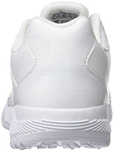 Adidas, Altarun K, Scarpe da Ginnastica Unisex Bambini Bianco (Ftwbla/Ftwbla/Grimed)