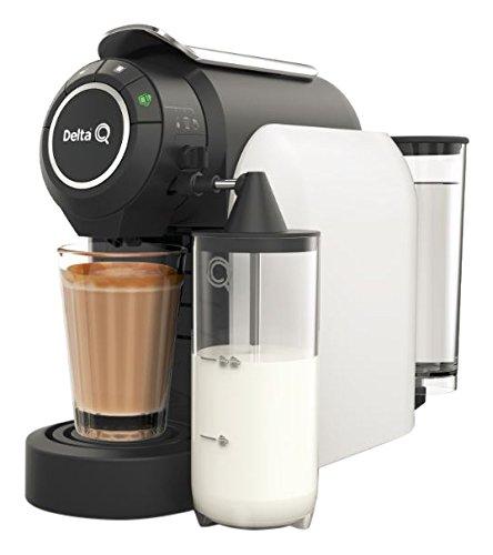 Delta F milkqool Delta F Kaffeeautomat Kapsel weiß 1200W