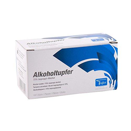 Teqler T-431101 Alkoholtupfer (100-er Pack)
