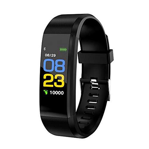 XNNDD Outdoor-Multifunktions-intelligente Sportuhr wasserdicht Schlaf Überwachung Temperatur Reminder Aktivität Fitness Tracker -