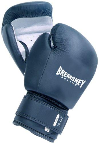 Bremshey Boxhandschuhe Attack, schwarz / weiß, 8 oz, 08BRSBO123