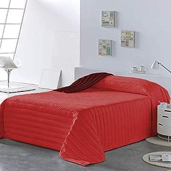 PETTI Artigiani Italiani Couvre Lit Matelass/é Couverture Lit 220x260 Orange Couvre Lit Couette /ét/é Boutis Dessus De Lit 100/% Made in Italy