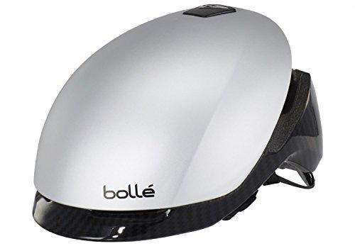 Bolle Messenger Premium Helmet silver carbon Kopfumfang 58-62 cm 2016 Rennradhelm