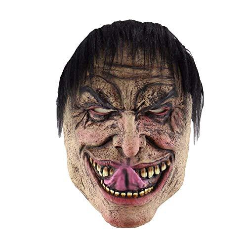 Halloween-Lustige Elende Mannmaske Außenhandel Horror Latex Clown Maske Kapuze Brauch