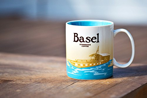Starbucks Kaffeebecher Kaffee City Mug Tee Tasse Becher Icon Series Basel Schweiz Switzerland -