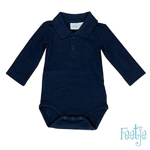 Feetje Body da neonato con colletto 502057 marine 010 (Bottoni Cotone Slip)
