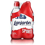 Lanjarón Agua Mineral Natural con Tapón Sport - Pack 4 x 75 cl