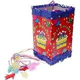 Pinata + 50 jouets : Ballons et balles, Bracelets, Soubidous, cartes ... Piniata Anniversaire