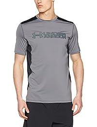 Under Armour 1292648-600 - Camiseta para hombre, color Multicolor (Graphite/Black 040), talla Small