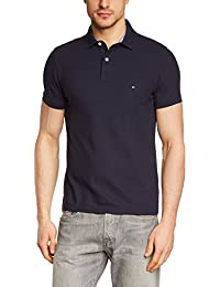 Tommy Hilfiger Herren Poloshirt 50/2 PERFORMANCE POLO S/S SF, Einfarbig