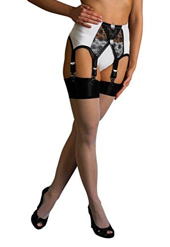 Crossover Suspender belt Strapsgürtel Super sexy XXL, 6 Straps - 2