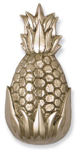 Hospitality Pineapple Door Knocker - Nickel Silver (Premium Size) by Michael Healy Designs