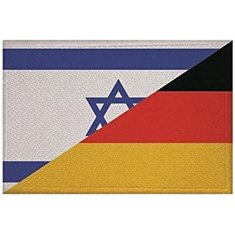 U24toppa bandiera germania Israele, da 9x 6cm