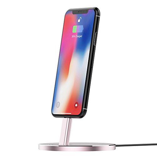 Preisvergleich Produktbild Jokitech Compact Aluminium Tischplatte Charing Dock für iPhone 5/5S/5 C/SE/6/6S/6S Plus/7/7plus/iPod Touch 5 G/iPod Nano 7 G/iPad Mini
