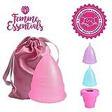 Femme Essentials Cup menstruelle | Coupe menstruelle,...
